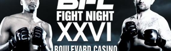 BFL26 Leo Xavier vs Dejan Kajic video