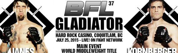 BFL37 Official Weigh-in Results