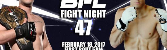 BFL47 | Christopher vs Jung | Vancouver MMA
