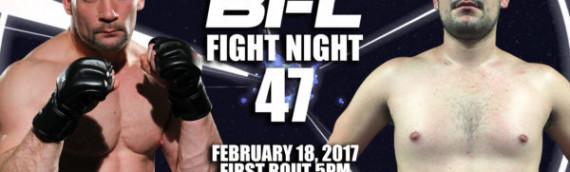 BFL47 | Smyth vs Machado | Vancouver MMA